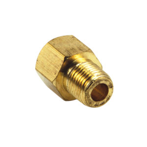 BRASS 1/2IN X 3/8IN BSP F/M ADAPTOR