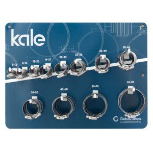 Kale 102pc Wall Merchandiser w/Stock WD 9mm W2