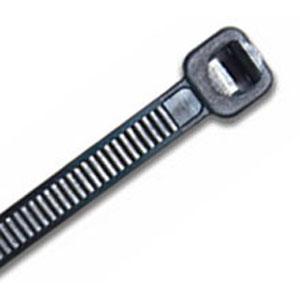 ISL 300 X 4.8MM UV NYLON CABLE TIE - BLK. - 100PK