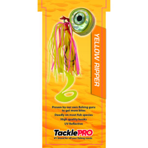 TacklePro Kabura Lure 80G - Yellow Ripper