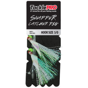 TacklePro Snapper Catcher Silver – 5/0