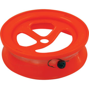 "TacklePro 6"" Hand Caster 100 Metre - Hi-Vis Orange"